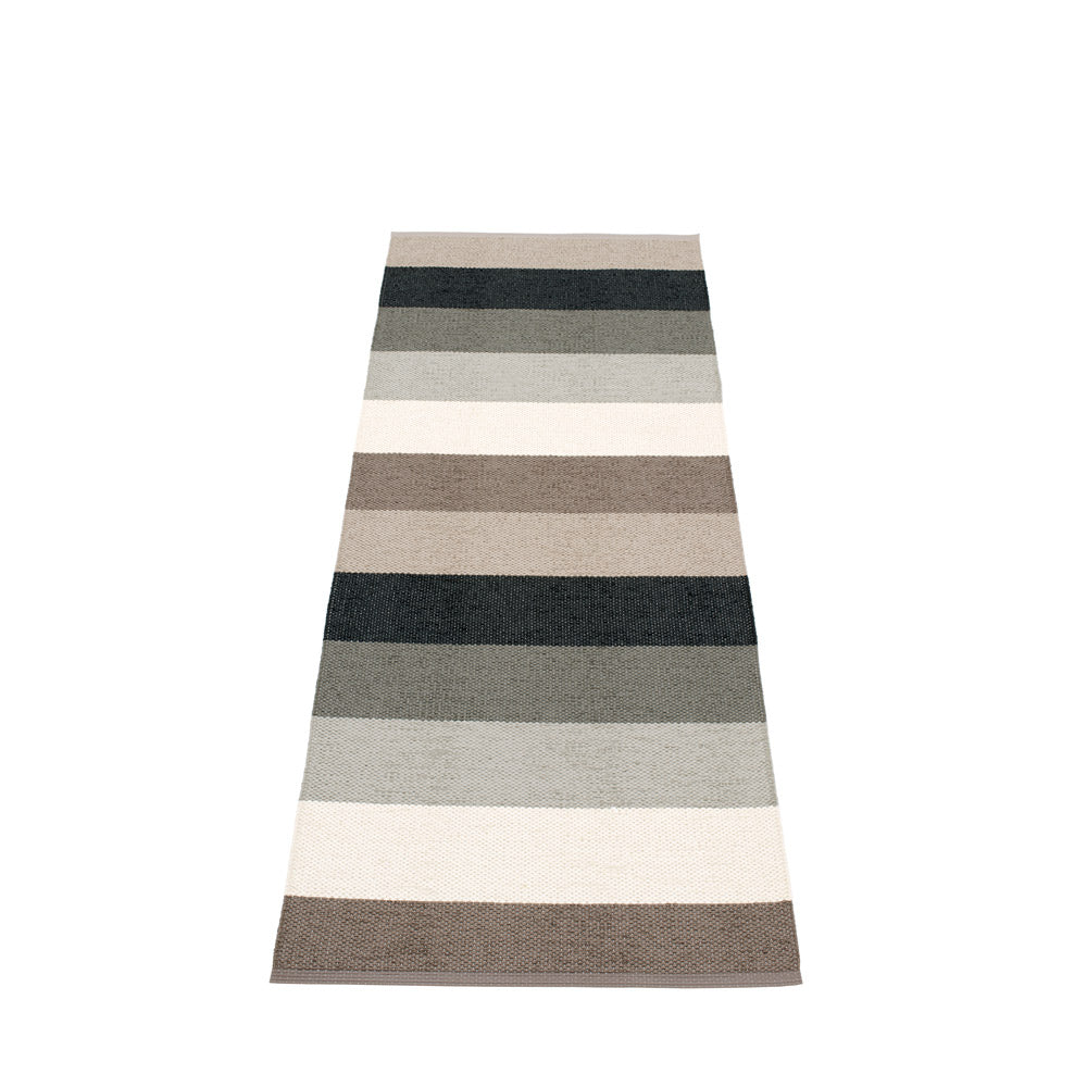 PAPPELINA | Plastic Rug | Molly | Mud | 4 sizes
