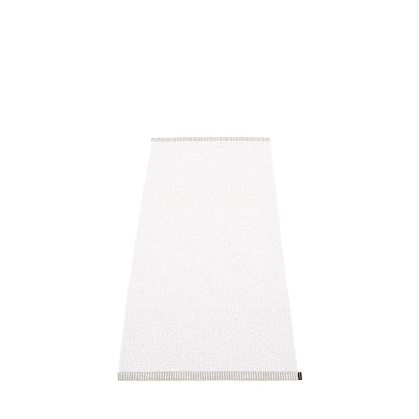 PAPPELINA | Plastic Rug | Mono | White | 8 sizes - 2 week delivery