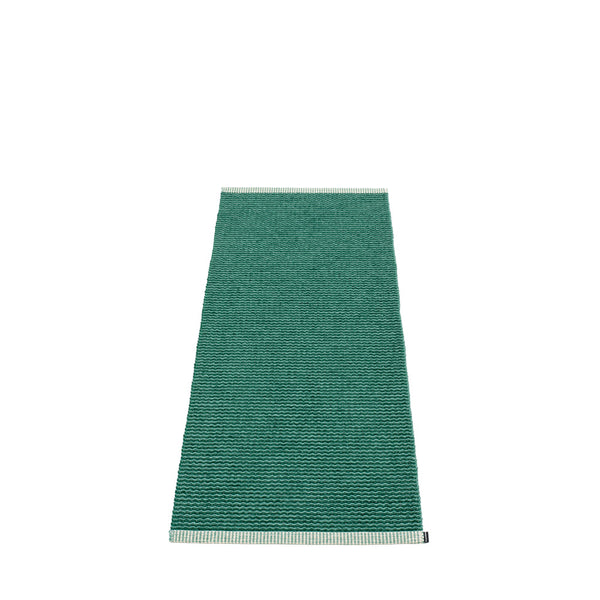 PAPPELINA | Plastic Rug | Mono | Dark Green | 8 sizes