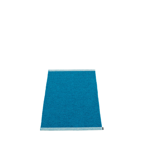 PAPPELINA | Plastic Rug | Mono | Petrol | 8 sizes - 2 week delivery