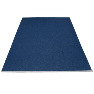 PAPPELINA | Plastic Rug | Mono | Dark Blue | 8 sizes