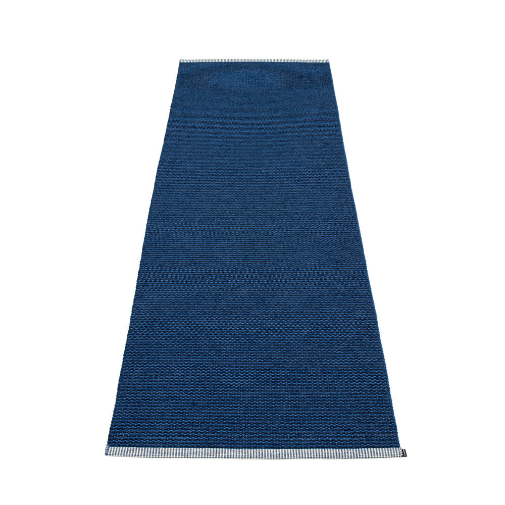 PAPPELINA | Plastic Rug | Mono | Dark Blue | 8 sizes - 2 week delivery