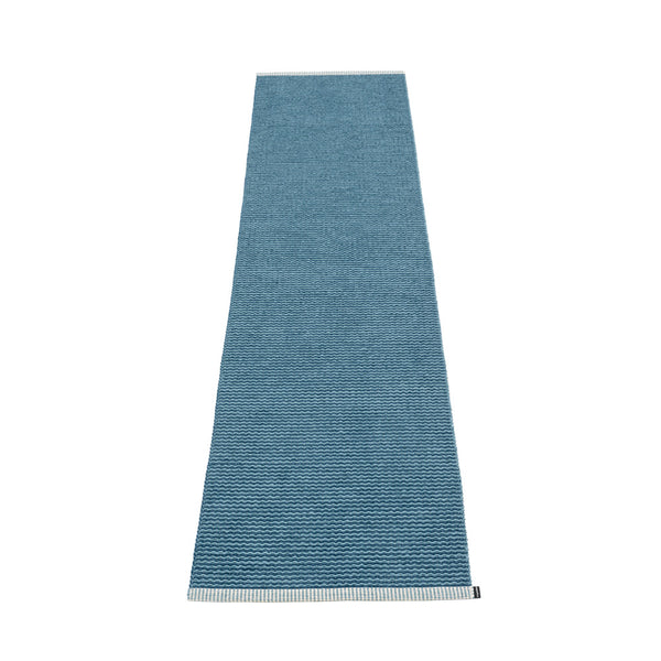 PAPPELINA | Plastic Rug | Mono | Ocean Blue | 8 sizes - 2 week delivery