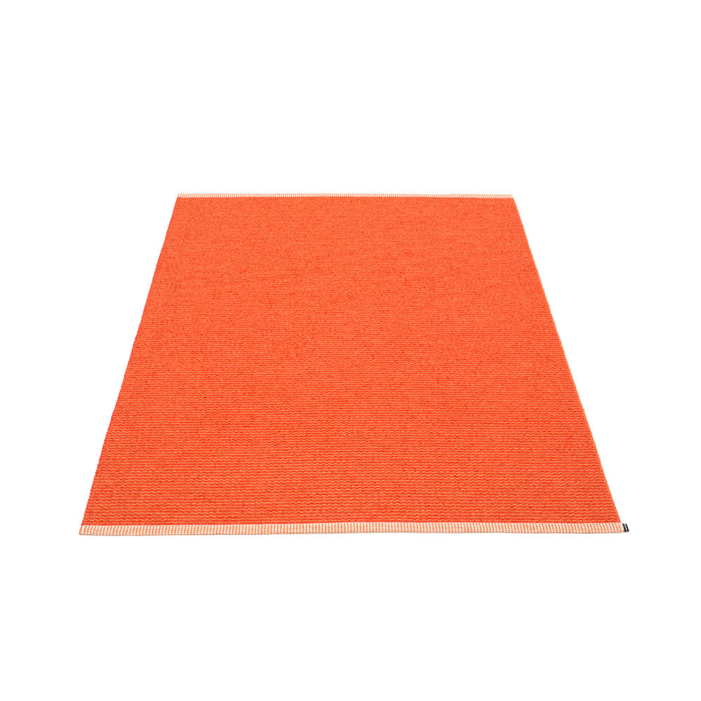 PAPPELINA | Plastic Rug | Mono | Pale Orange