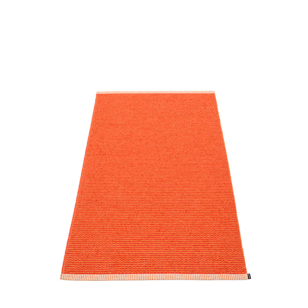 PAPPELINA | Plastic Rug | Mono | Pale Orange | 8 sizes - 2 week delivery