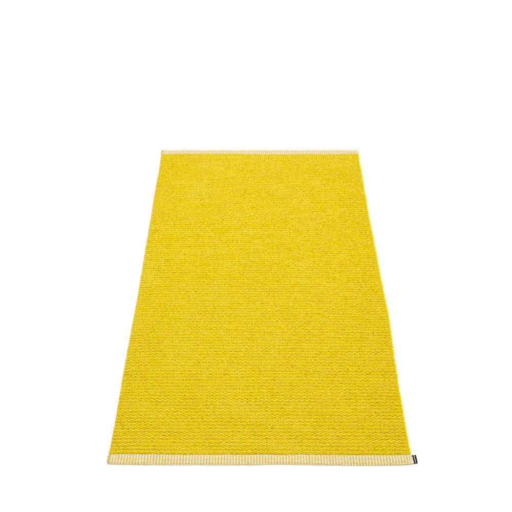 PAPPELINA | Plastic Rug | Mono | Mustard | 8 sizes - 2 week delivery