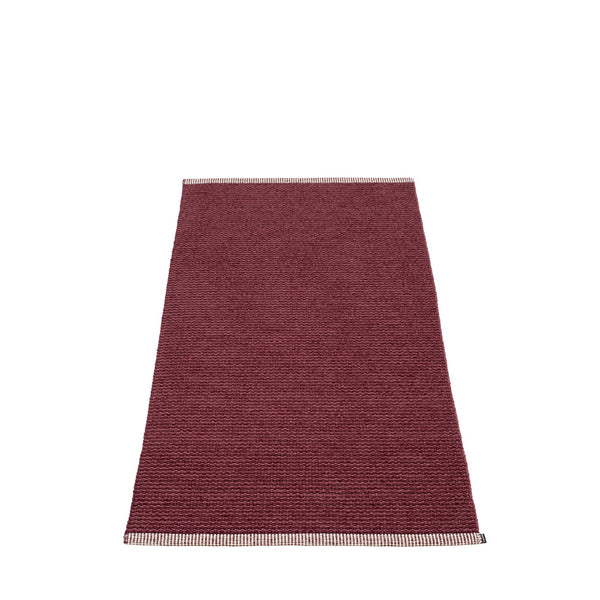 PAPPELINA | Plastic Rug | Mono | Zinfandel | 8 sizes - 2 week delivery