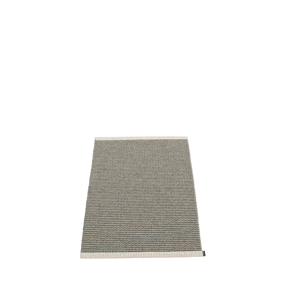 PAPPELINA | Plastic Rug | Mono | Charcoal | 8 sizes