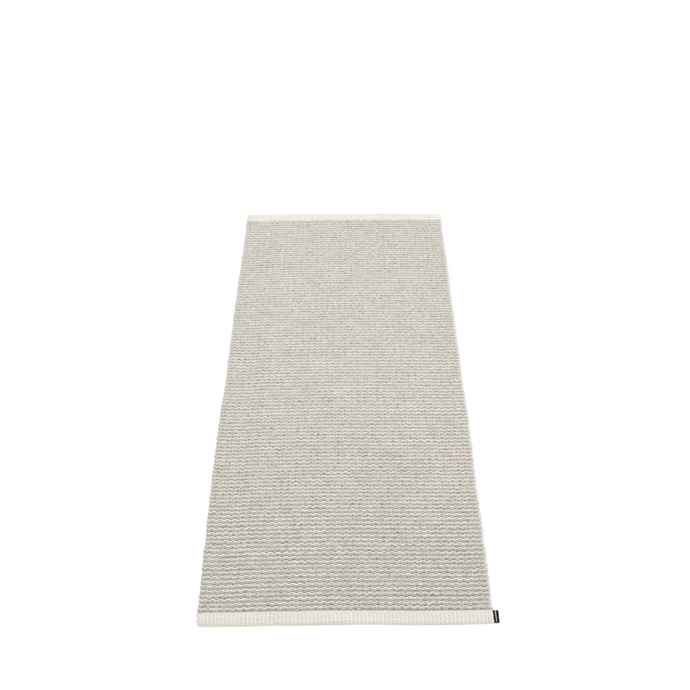 PAPPELINA | Plastic Rug | Mono | Fossil Grey | 8 sizes