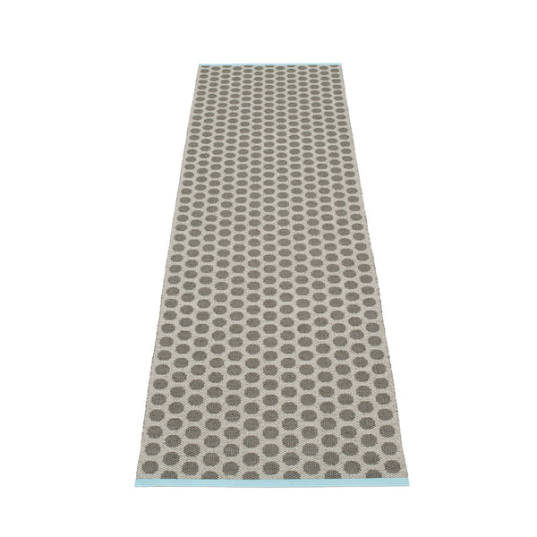 PAPPELINA | Plastic Rug | Noa | Charcoal | 5 sizes