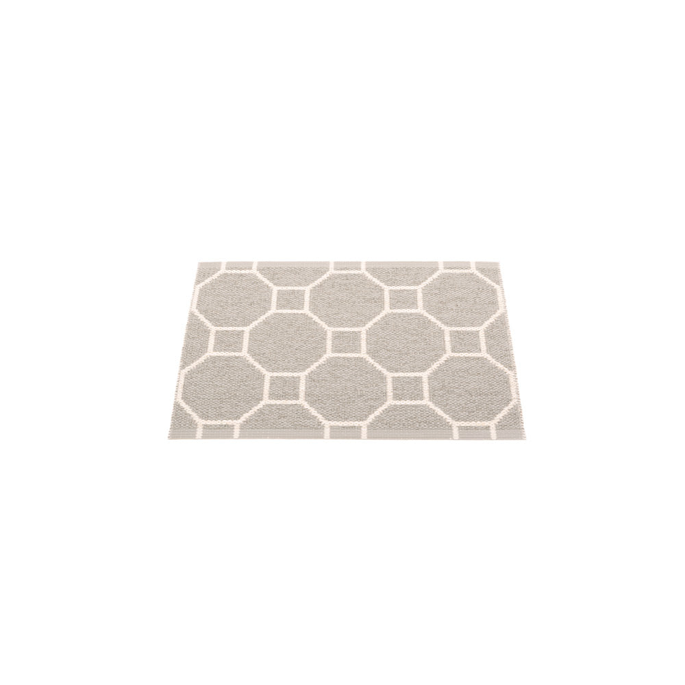 PAPPELINA | Plastic Rug | Rakel | Warm Grey/Vanilla | 6 Sizes