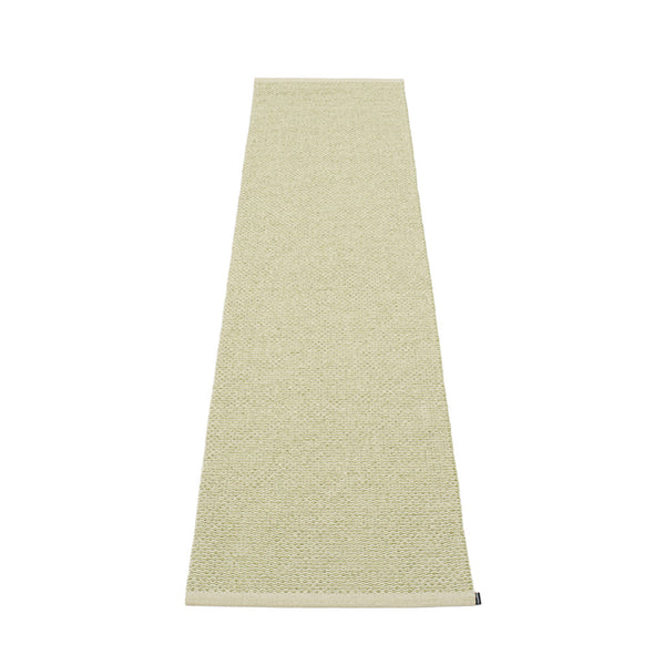 PAPPELINA | Plastic Rug | Svea | Olive Metallic | 11 sizes