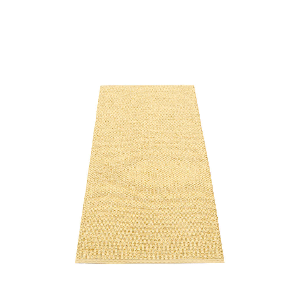 PAPPELINA | Plastic Rug | Svea | Gold | 11 sizes