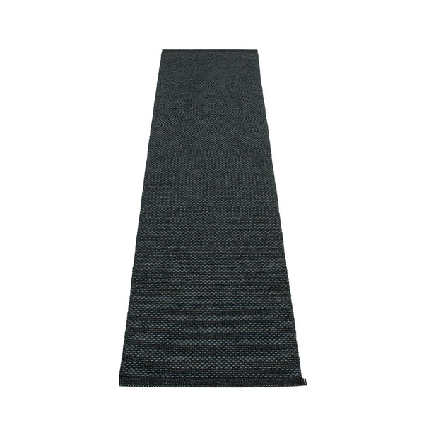 PAPPELINA | Plastic Rug | Svea | Black Metallic | 11 sizes