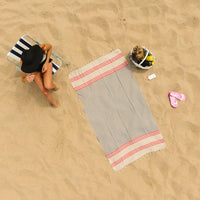 Aldabella 100% Cotton Beach Towel