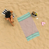 Galen Down 100% Cotton Beach Towel