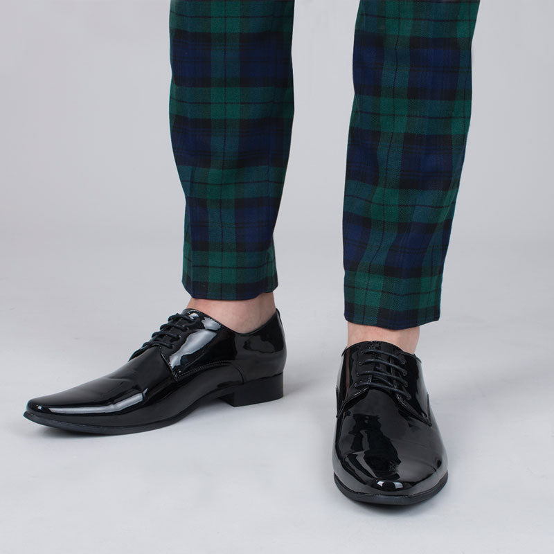 Black Contemporary Dress Shoes