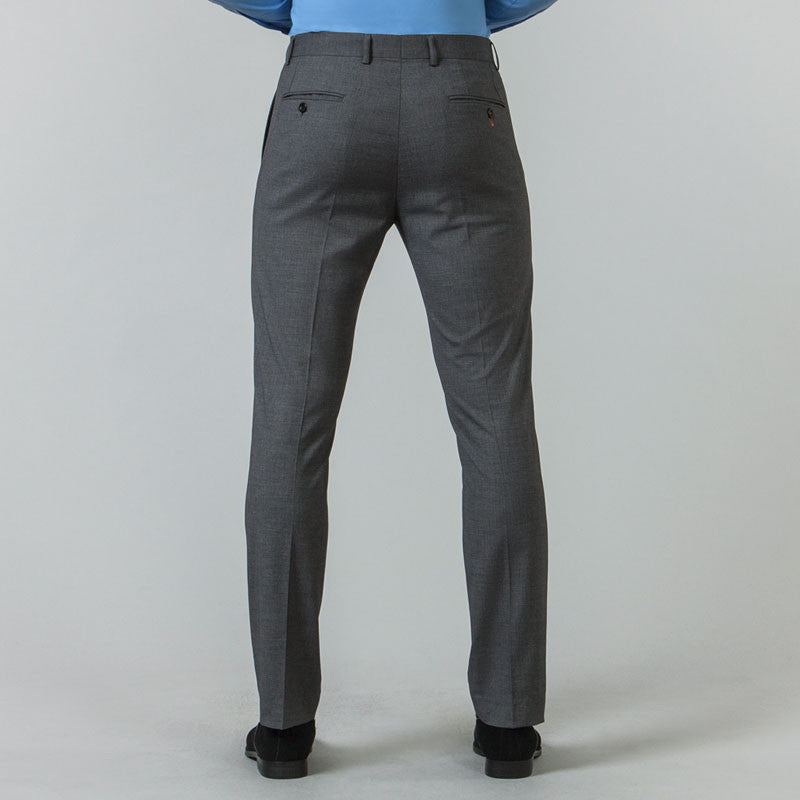 Grey Suit Slim Fit Trousers