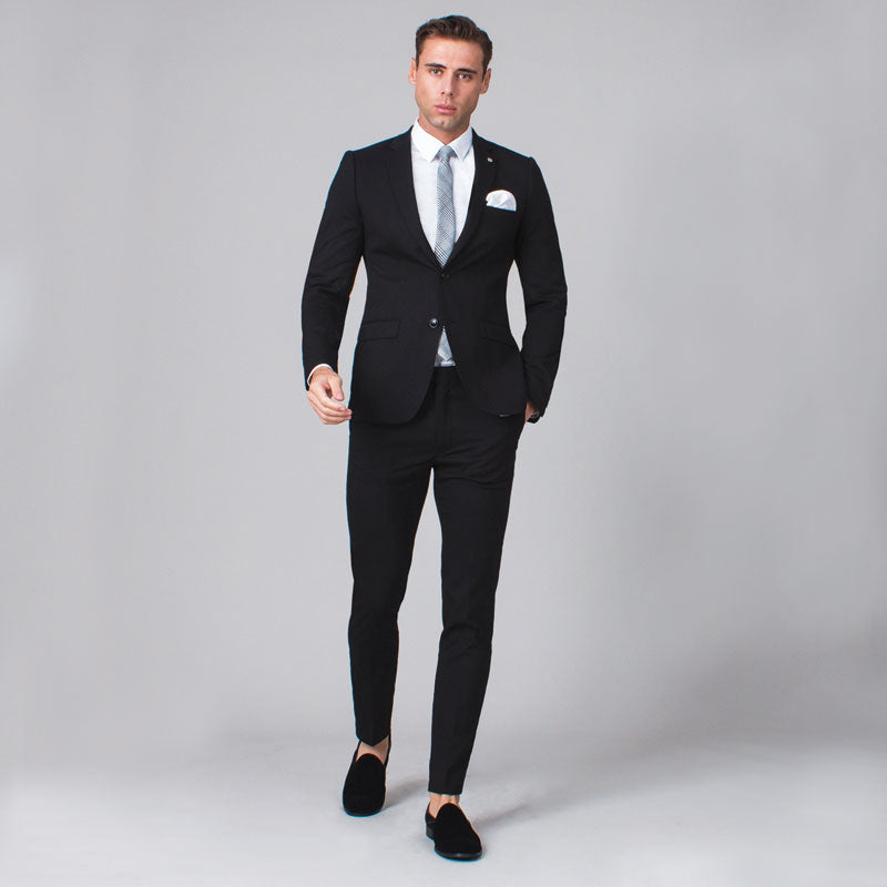 Black Skinny Fit Suit