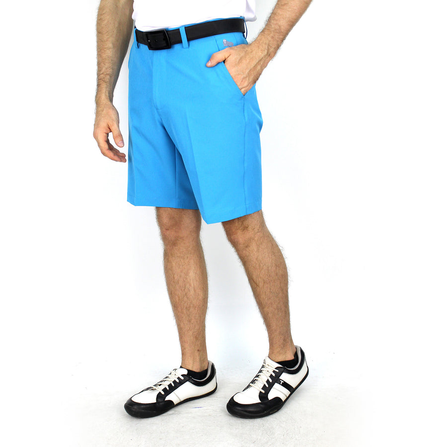 Walrus Antony Tech Golf Shorts Hawaii Blue