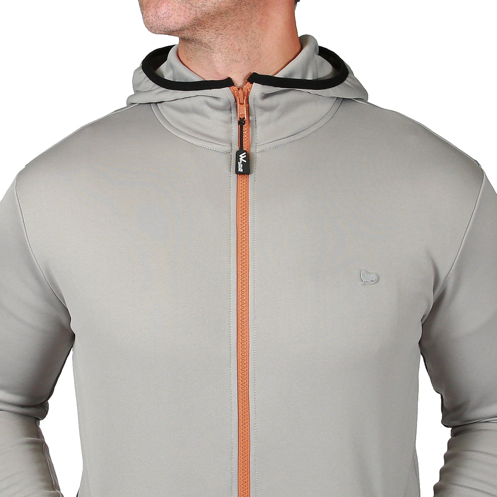 Travis Tech Golf Hoodie - Neutral Grey