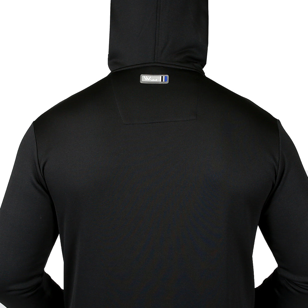 Travis Tech Golf Hoodie - Black