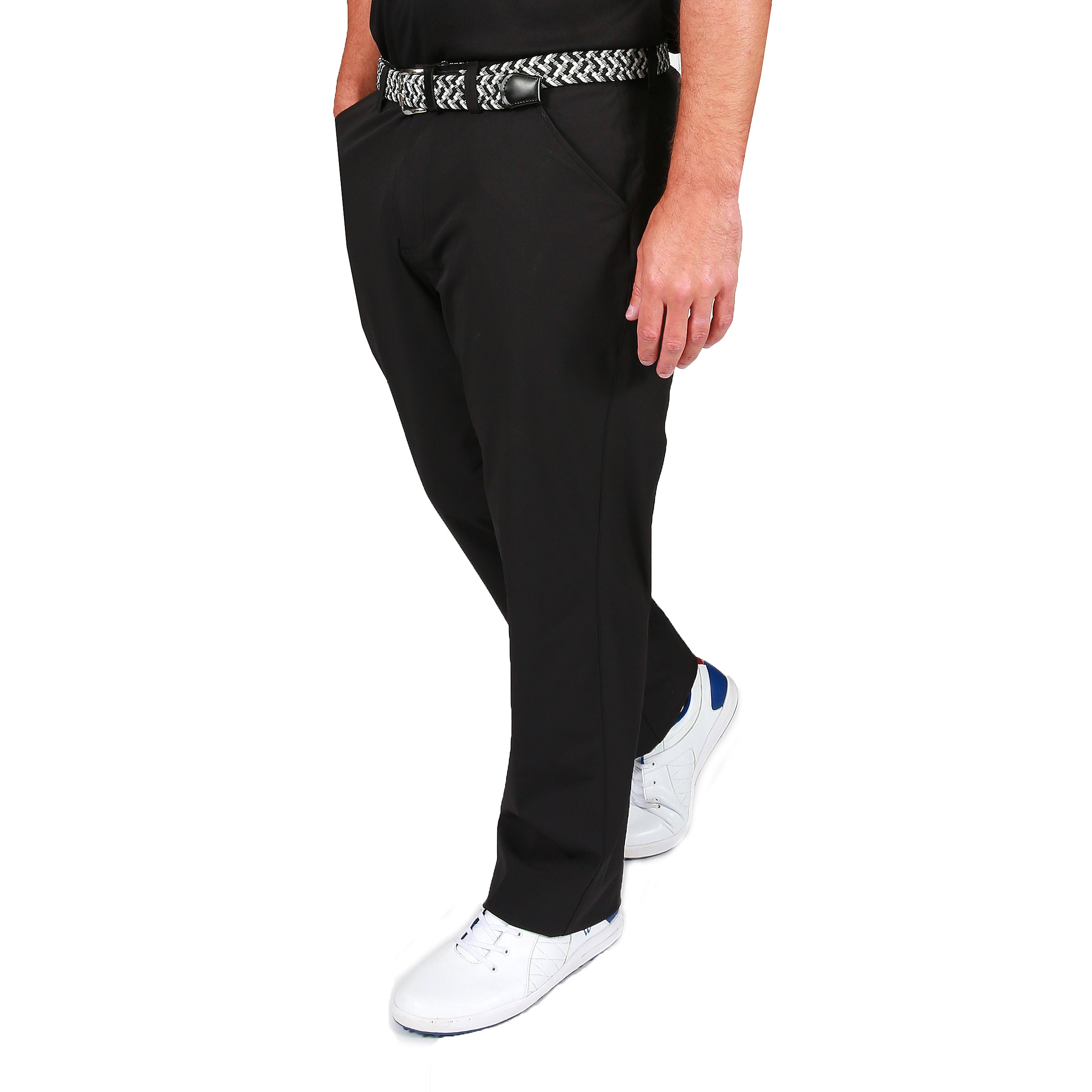Ivan Water Repellent Golf Trousers - Black by  Walrus Apparel
