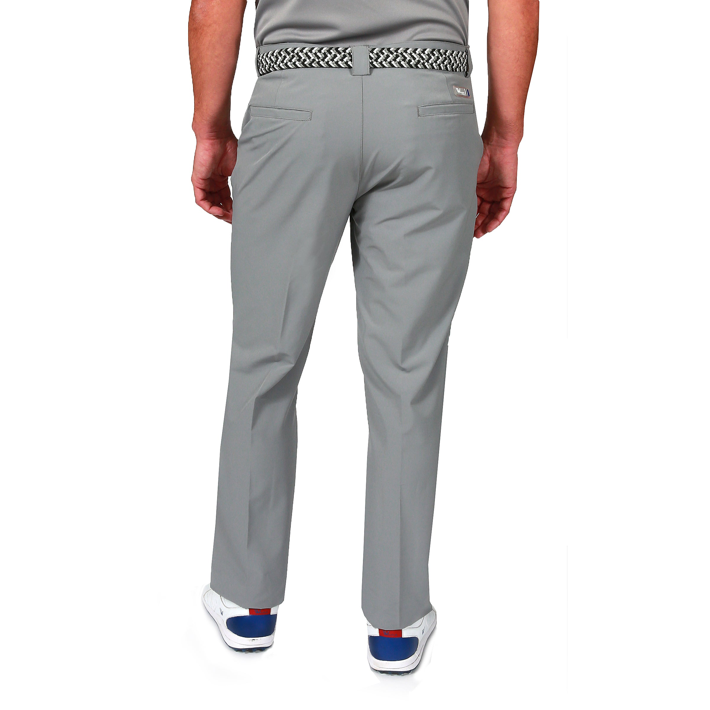 Ivan Water Repellent Golf Trousers - Neutral Grey by  Walrus Apparel