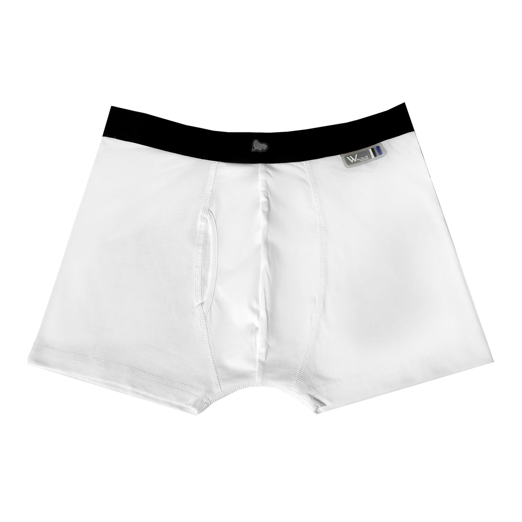 Thomas Boxer Short - White