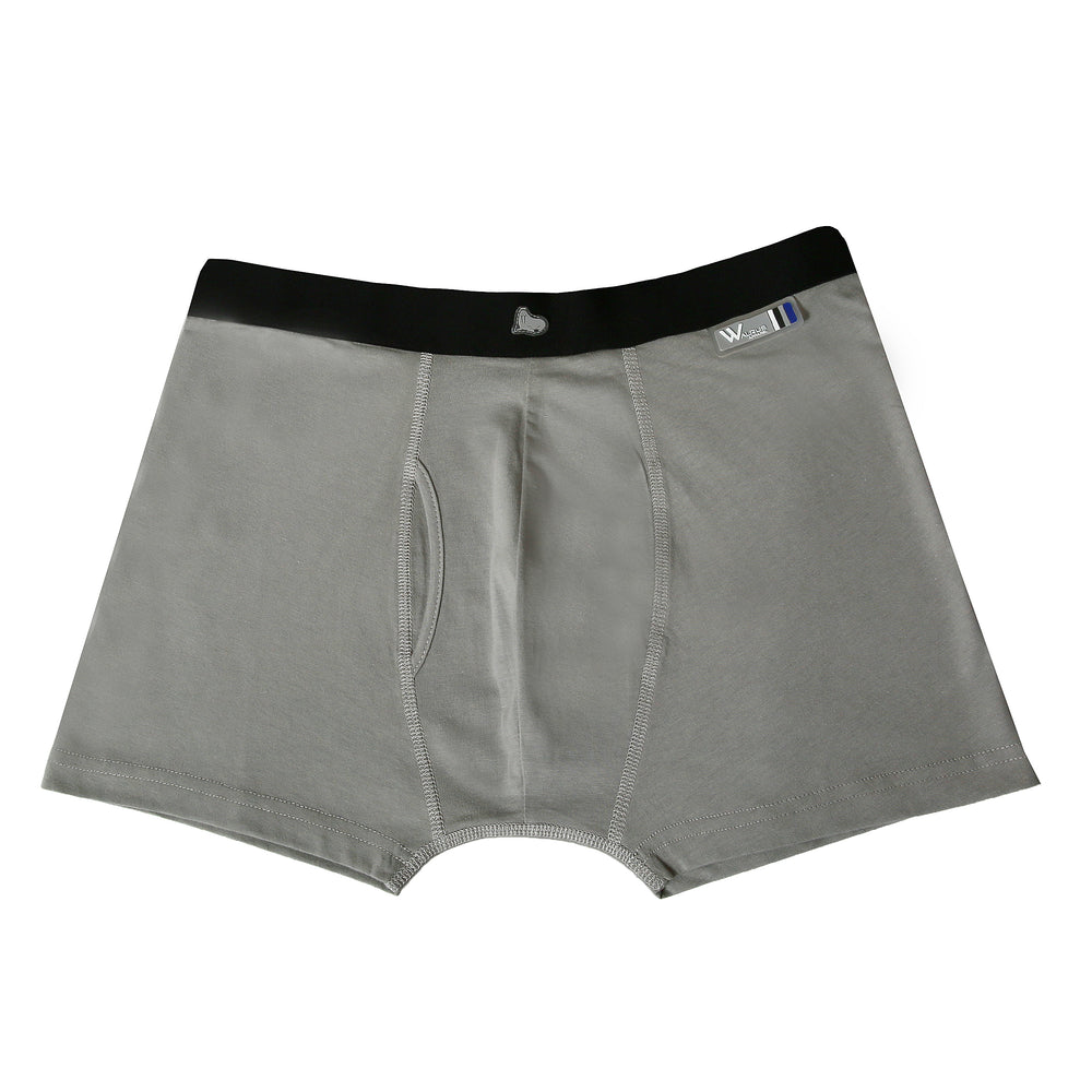 Thomas Boxer Short - Neutral Grey