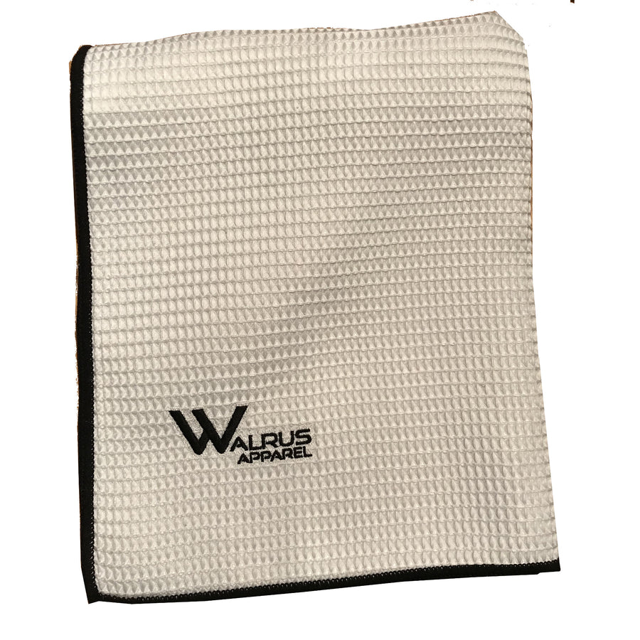 Walrus Apparel Micro Velour Tournament Golf Towel