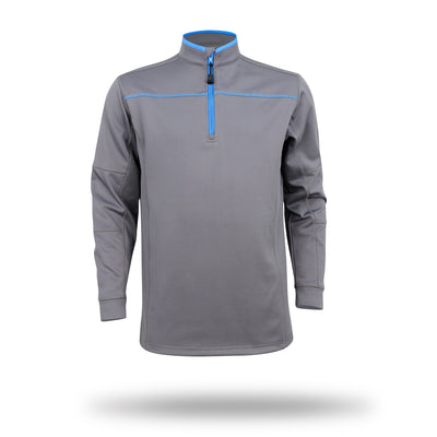 Walrus Finn 1/4 Zip Golf Midlayer Pullover Charcoal