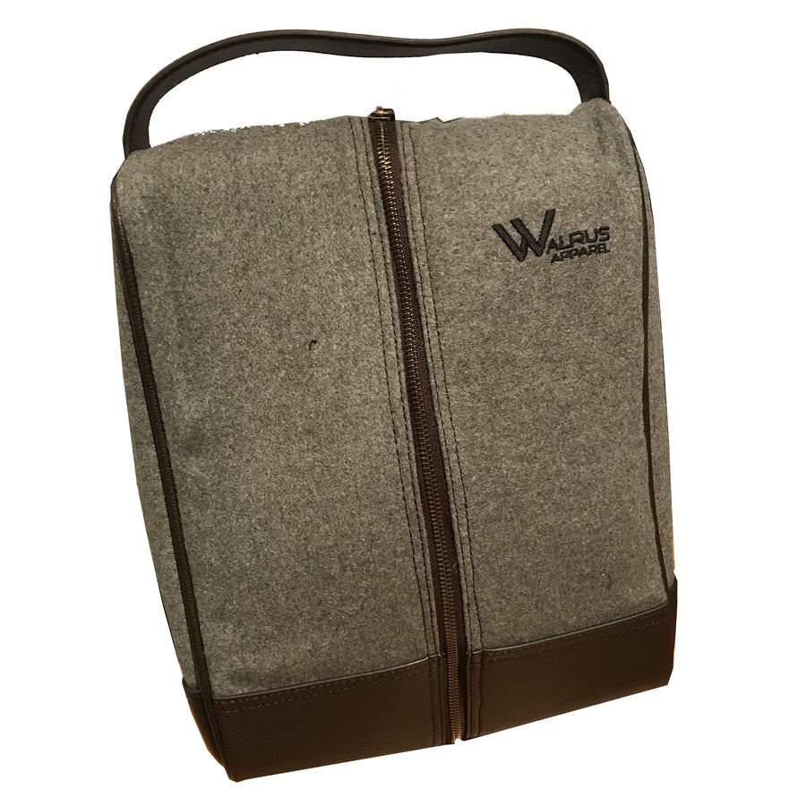 Walrus Apparel Premium Fabric Golf Shoe Bag