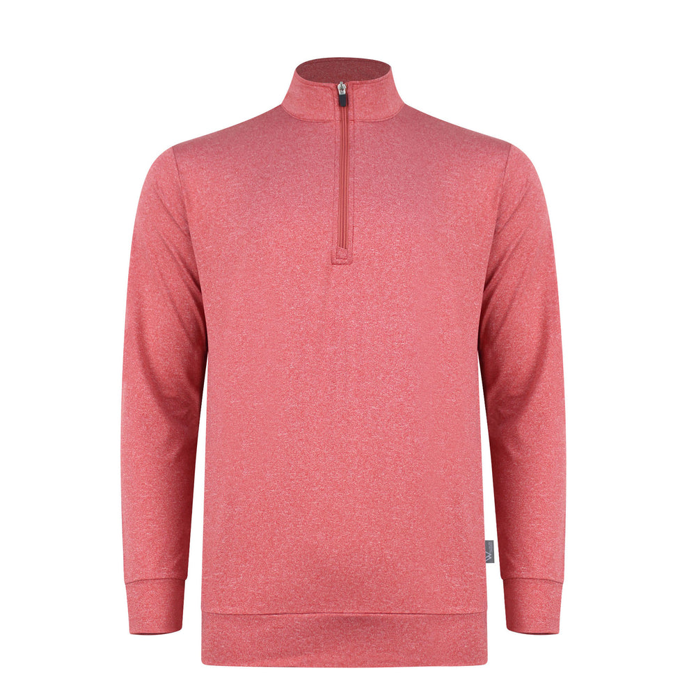 Zac Lightweight Mens Golf Midlayer - Scarlet Pink