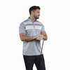 Walrus Apparel Lucas Chest Stripe Golf Polo Shirt