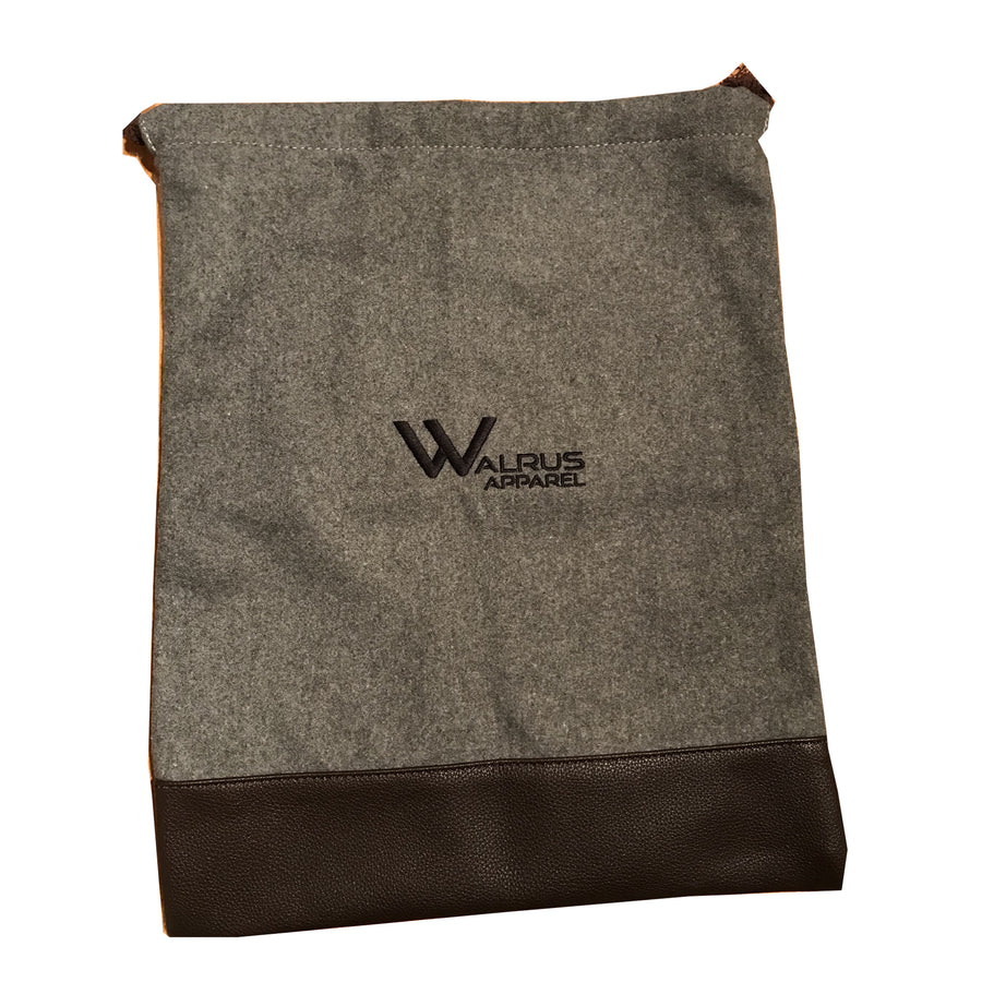 Walrus Apparel Premium Fabric Golf Shoe Sack