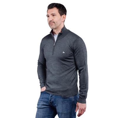 Walrus Apparel Mark 1/4 Zip Merino Sweater
