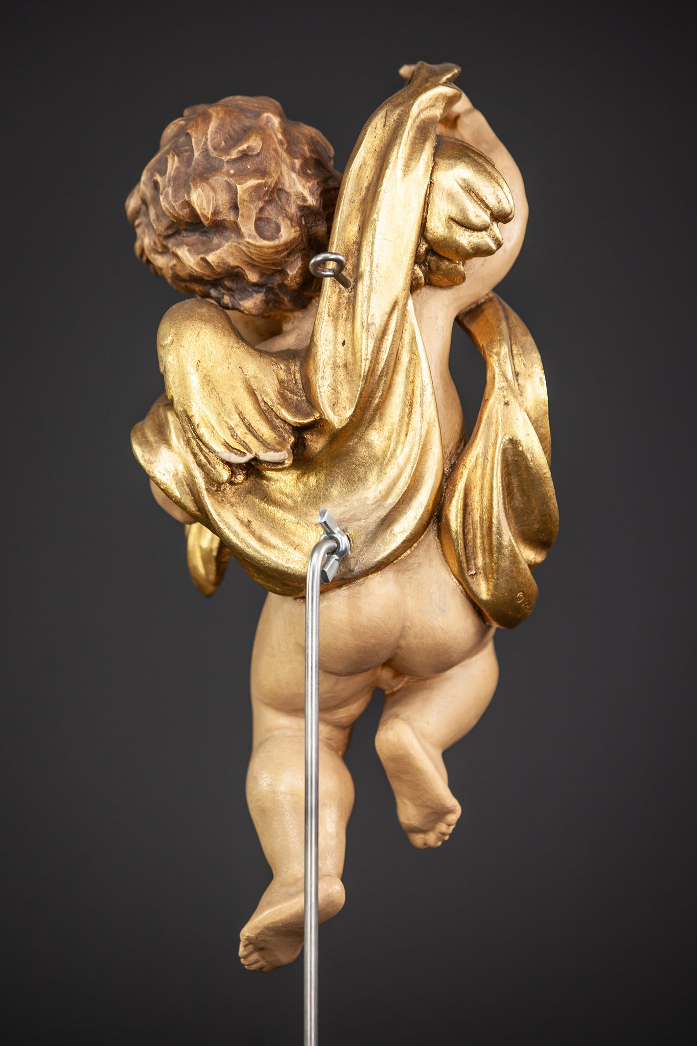 Angel Wood Carving Statue 11""