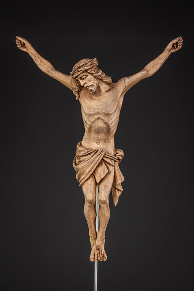 Corpus Christi Wooden Carved Statue 13''