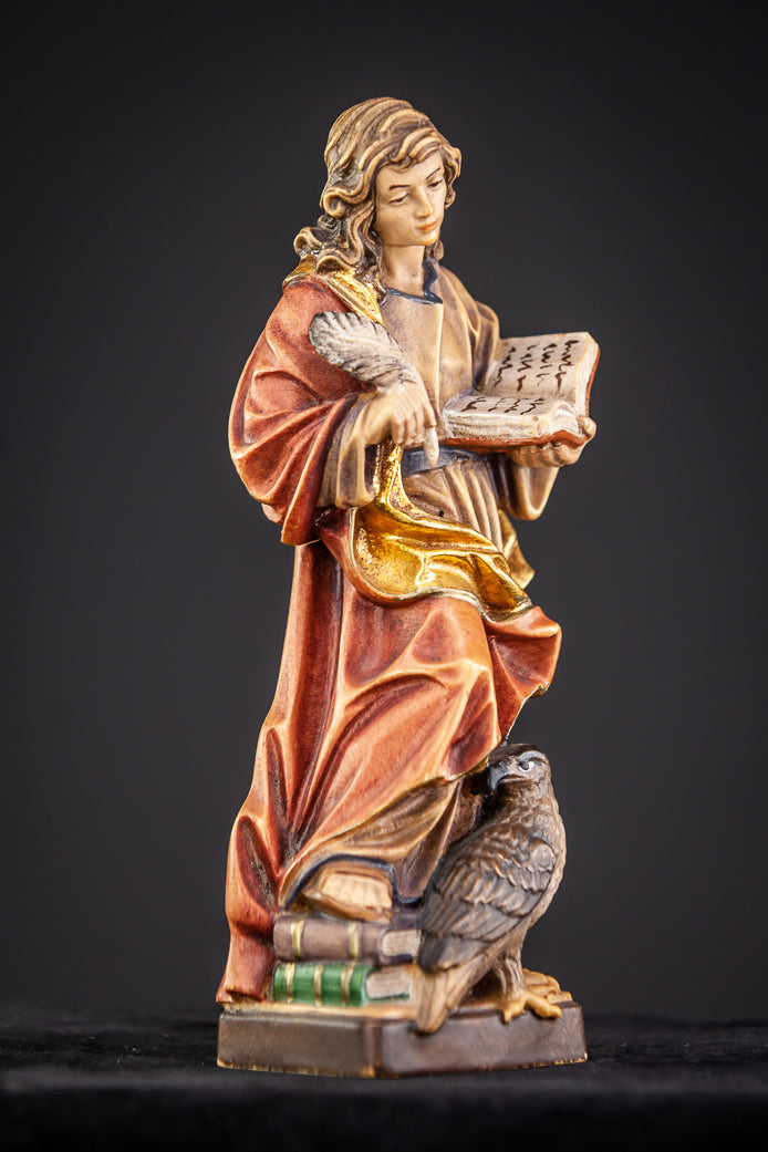 St John The Evangelist Wood Statue 8""