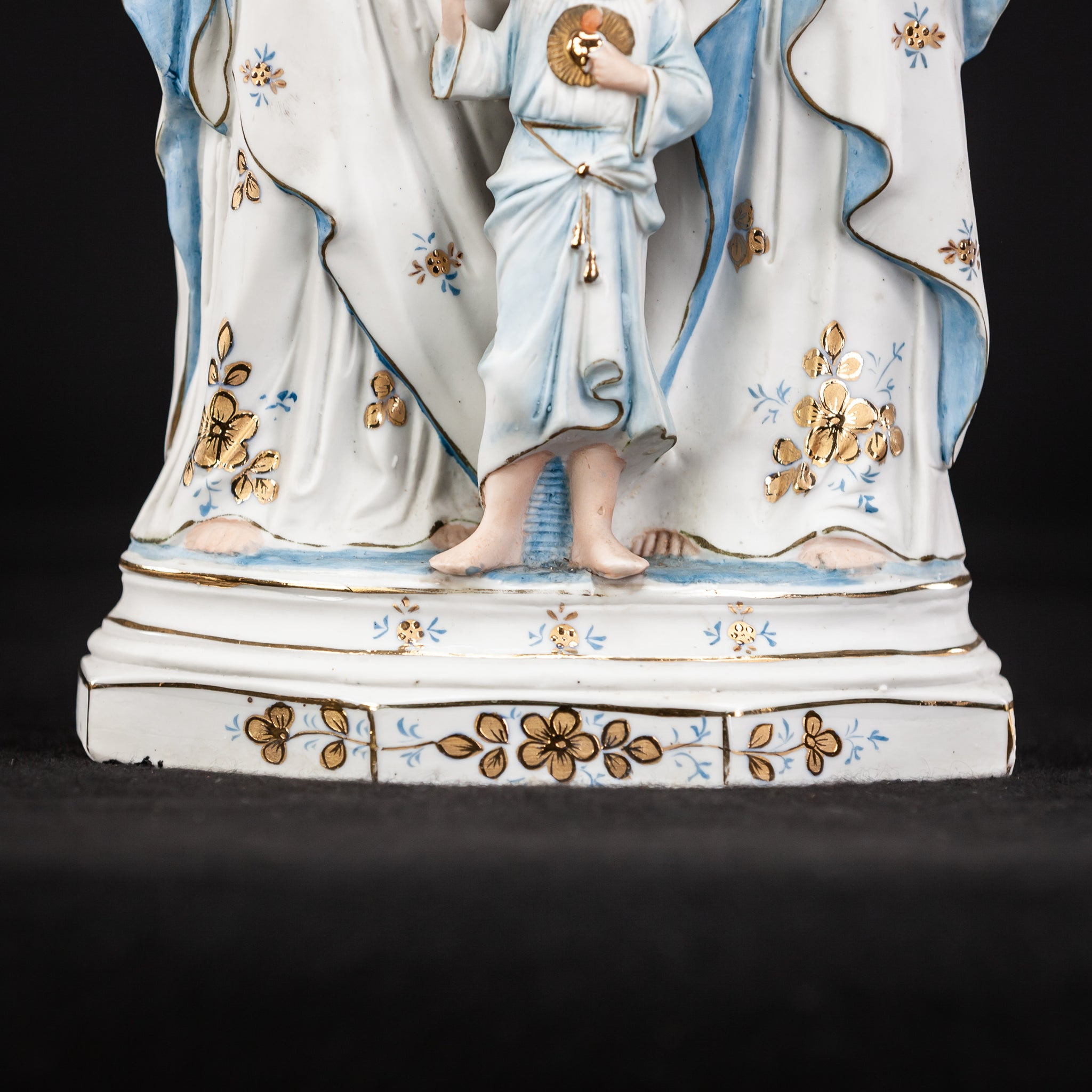 Holy Family Statue | Bisque Porcelain | 12.2""