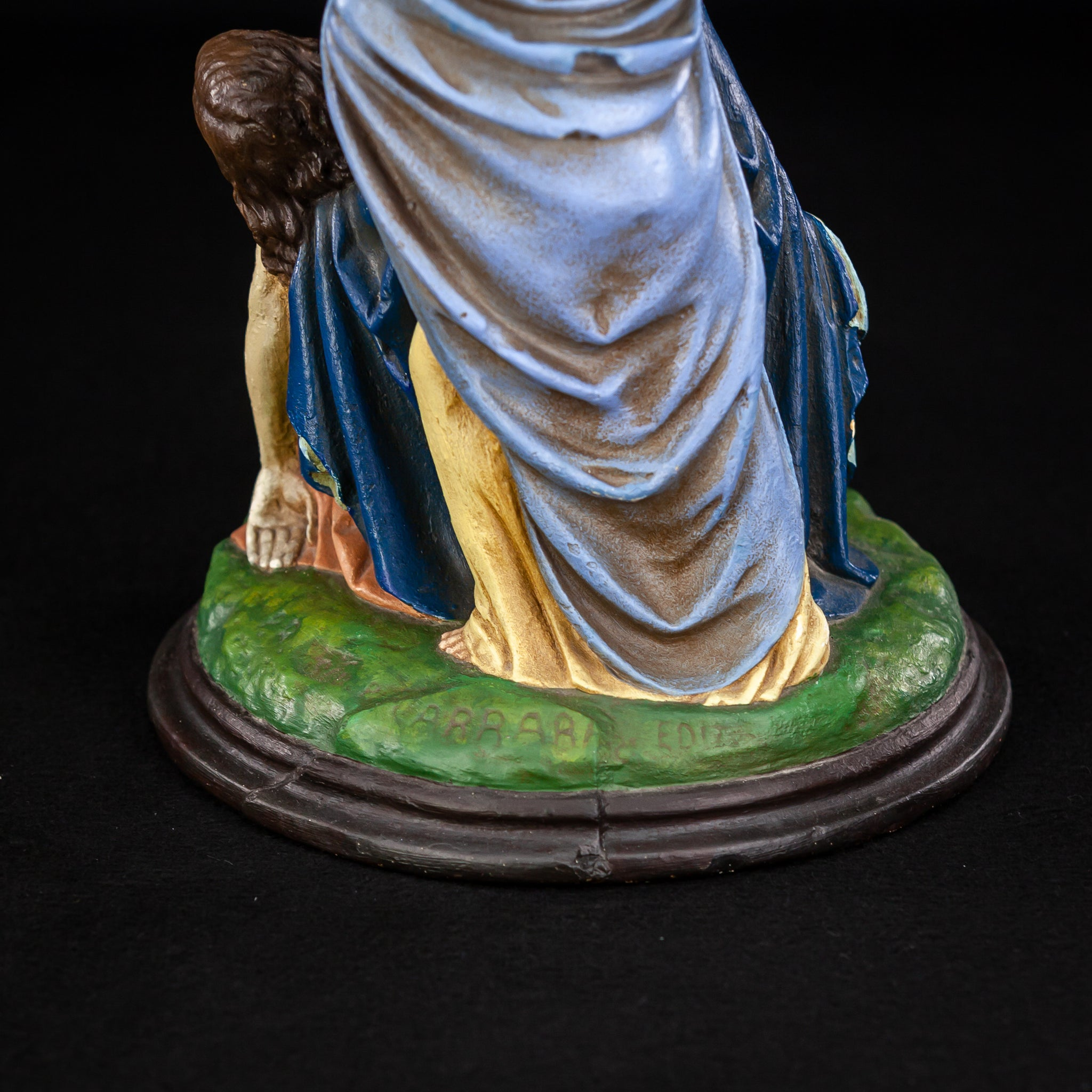 Pieta Statue | Virgin Mary Jesus Christ Mary Magdalene | 11.6""