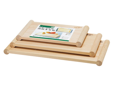HINOKI Cypress Clean & Sanitary Cutting Board, Both Side Use