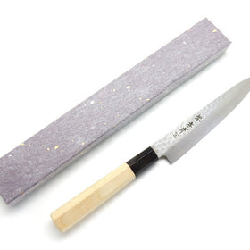 45 Layers Hammered Damascus Japanese Style Paring Knife 150mm