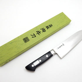 Hi-Carbon Japan Steel(HAGANE), Santoku(Multi Purpose Knife) 180mm