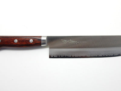 VG-1 GOLD Clad Steel, HGW Nakiri 160 mm