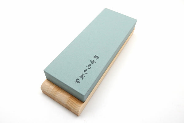 Yoshihiro Original Coarse Whetstone #400(Green) with Wooden Base