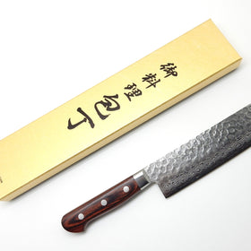 VG-10 17 Layers Hammered Damascus HAA Nakiri 160mm