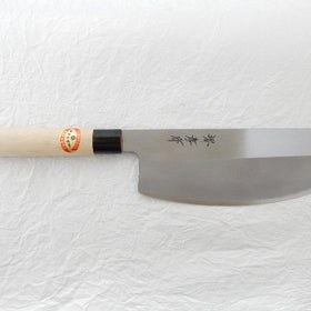 Yasuki White Steel,KASUMITOGI Sushi Kiri(Sushi Knife/Double bevel)