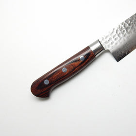 VG-10 17 Layers Hammered Damascus HAA Santoku 180 mm